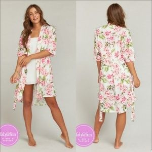 Show Me Your Mumu Garden Of Blooms Brie Robe